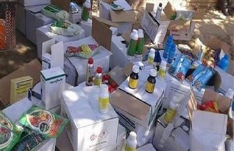 ضبط 25 ألف عبوة مبيدات غير مسموح بتداولها في الأسواق خلال شهر أبريل