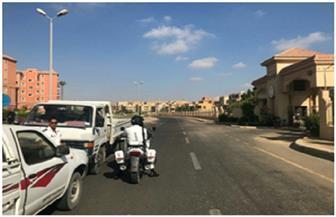 """ضبط 186 مخالفة مرورية من بينها 63 """"سير عكس الاتجاه"""" بالشيخ زايد"""