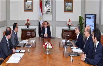 """الرئيس السيسي يوجه باستكمال تنفيذ المشروعات الجديدة للطاقة الكهربائية ورفع كفاءة """"القائمة"""""""