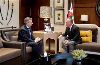 الملك عبدالله الثاني يستقبل طارق عادل سفير مصر لدى الأردن لتوديعه