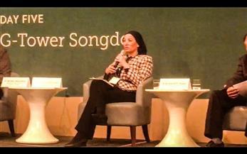 """وزيرة البيئة بمؤتمر""""المناخ الأخضر"""": دمج الشباب والأطفال ضرورة لبناء جيل قادر على التصدي للتغيرات المناخية"""