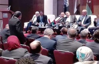 اتحاد الغرف التجارية يجتمع مع وفد الغرف الليبية لبحث سبل التعاون التجاري بين البلدين
