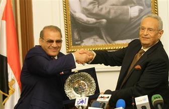 المحور تعرض احتفالية رئيس حزب الوفد وتكريم حسن راتب الليلة