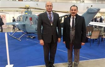 مشاركة مصرية فى افتتاح المعرض الدولى للأسلحة والطيران والفضاء| صور