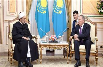 الإمام الأكبر فى كازاخستان: الأزهر سيظل داعما لكل مبادرة تقرب بين المسلمين وتجمع بين الناس