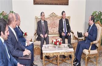 الرئيس السيسي: مصر مهتمة بتنفيذ مشروعات قومية ضخمة في مجال توليد ونقل وتوزيع الطاقة