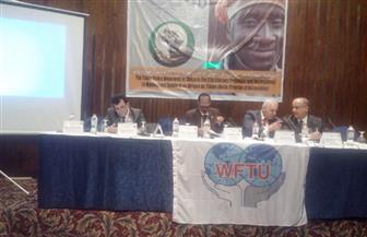 ممثل الاتحاد العالمي للنقابات: إفريقيا تحتاج للشراكة والتعاون وتسليط الضوء على قضاياها | صور