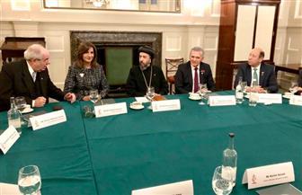 وزراء الهجرة بمصر واليونان وقبرص يزورون الكنيستين المصرية واليونانية بإنجلترا