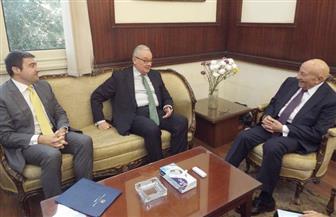 فايق يجتمع مع السفيرالإيطالي بالقاهرة لمناقشة ملف حماية حقوق الإنسان | صور