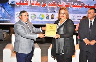 الاتحاد العربي للشباب والبيئة يكرم شركة المياه والصرف بالأقصر | صور