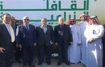 محافظ مطروح ووزير الزراعة يدشنان القافلة الزراعية والطبية لشركة أبو قير للأسمدة بسيوة | صور