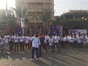 بدء ماراثون حزب مستقبل وطن بمدينة الشروق  صور