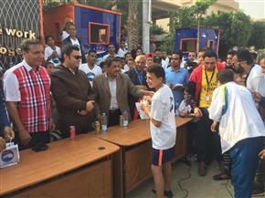 """""""مستقبل وطن"""" يكرم الفائزين في الماراثون الرياضي بالشروق  صور"""