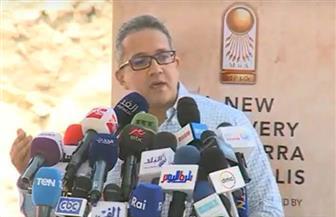 وزير الآثار يعلن أول كشف أثري لعام 2019.. وتونة الجبل تتصدر الاكتشافات للعام الثالث على التوالي