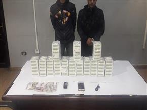 ضبط عاطلين بحوزتهما 14 ألف قرص مخدر ببولاق الدكرور