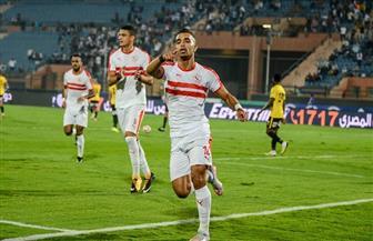 أوباما يحرز الهدف الأول للزمالك فى مرمي بيراميدز بنهائى كأس مصر