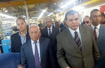 """وزير القوى العاملة ومحافظ بورسعيد يفتتحان ملتقى السلامة المهنية بحقل """"ظهر"""""""