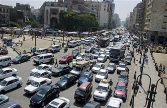 تعرف على أماكن الكثافات المرورية بالقاهرة والجيزة