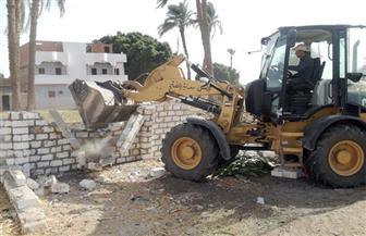 إزالة فورية لـ5 حالات تعدٍ وتحرير 273 محضر إشغال ورفع تجمعات القمامة بالفتح بأسيوط | صور