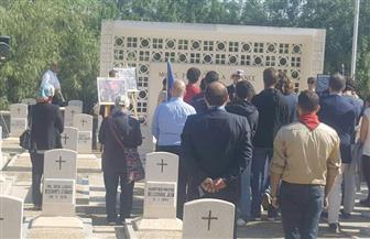 الجالية الفرنسية بالإسكندرية تحيي الذكري المئوية لنهاية الحرب العالمية الأولى | صور