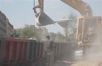 بعد توقف دام سنوات.. السكة الحديد تستعيد نقل خام الفوسفات إلى مصانع السماد بمنقباد بأسيوط | صور