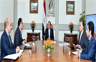 الرئيس السيسي يوجه بمواصلة تطوير منظومة النقل في مصر