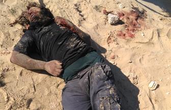 الأمن المركزي يحبط هجوما لانتحاري حاول تفجير نفسه في كمين بالعريش | صور