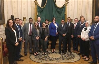 """سيلفيا نبيل تكشف تفاصيل زيارة وفد المجلس الأمريكي لـ""""النواب"""""""