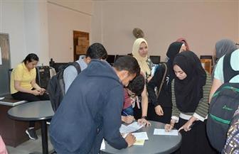 إجراء انتخابات الاتحادات الطلابية في 10 كليات.. والتزكية بـ6 أخرى بجامعة الفيوم | صور