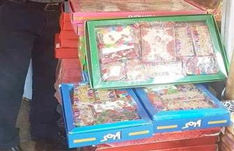 ضبط 170 ألف قطعة حلوى غير صالحة للاستهلاك بمصنع في الإسكندرية