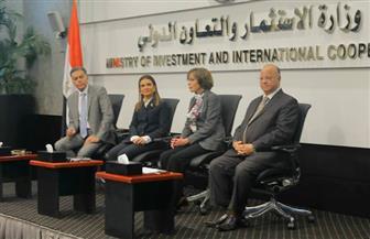 هشام عرفات يستعرض المشروعات والفرص الاستثمارية لقطاعات النقل | صور