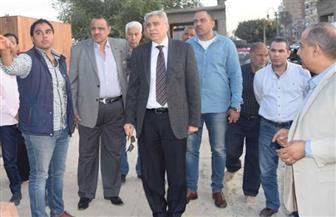 محافظ المنيا يتفقد أعمال مشروع شارع مصر بكورنيش النيل