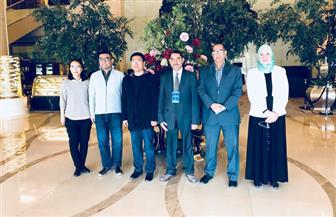 وزير التعليم العالي يستعرض تقريرا حول زيارة وفد من معهد بحوث الإلكترونيات للصين | صور