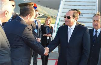 """""""مصر النهاردة"""" يستعرض مشاركة الرئيس السيسي بالقمة المصغرة للقادة المعنيين بالملف الليبي في إيطاليا"""