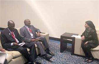 وزيرة البيئة تلتقى نائب سكرتير مجلس الوزراء الكيني لبحث سبل التعاون المشترك