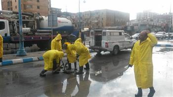 محافظة مطروح تحذر المواطنين من سوء حالة الطقس خلال الساعات المقبلة