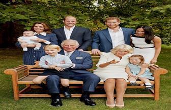 لأول مرة.. صورة عائلية للأمير تشارلز بمناسبة عيد ميلاده الـ٧٠