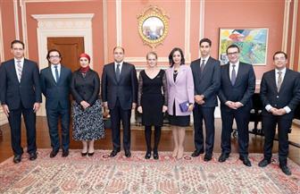 السفير أحمد أبو زيد يقدم أوراق اعتماده ممثلا لمصر بكندا | صور