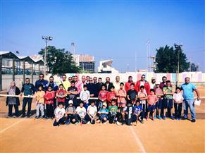 وكيل الشباب والرياضة بالغربية يشهد فعاليات بطولة التنس للمدارس باستاد طنطا | صور