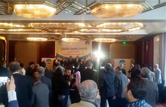 سعفان يفتتح مؤتمر الاتحاد العربي لنقابات النفط والمناجم | صور