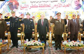 محافظة كفرالشيخ تحتفل بعيدها القومي الـ62 بمدينة برج البرلس| صور