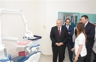 رئيس جامعة القاهرة يفتتح مركزا لعلاج السكر.. وتجديدات فى غرف العمليات بقصر العيني | صور