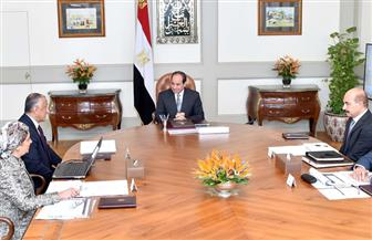 الرئيس السيسي يجتمع مع محافظ البنك المركزي ويوجه بإجراءات لخفض الدين العام وزيادة الصادرات