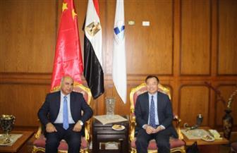 رئيس جامعة كفر الشيخ يجدد اتفاقية التعاون العلمى مع جامعة شرق الصين بشنغهاى | صور