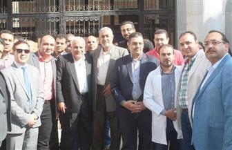 """وفد """"مستقبل وطن"""" يزور معهد الأورام بمحافظة دمياط"""