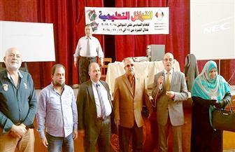 انطلاق القوافل التعليمية المجانية لطلبة الشهادة الثانوية العامة ببورسعيد| صور
