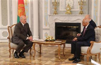 رئيس مجلس النواب يلتقي رئيس جمهورية بيلاروسيا