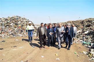 لجنة معاينة لبحث أسباب عدم انتظام إنتاج مصنع السماد العضوى بسوهاج |صور