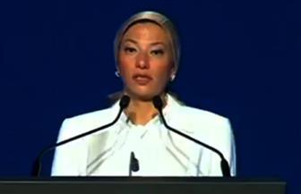 ياسمين فؤاد: نستضيف أقدم اتفاقية بيئية بفضل جهود الرئيس السيسي