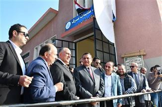 وزير الري يفتتح محطة صرف طابية العبد بالبحيرة بتكلفة 48 مليون جنيه | صور